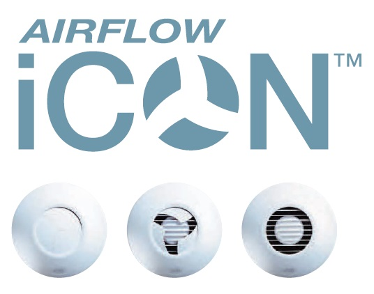 Airflow fans, icon fans, extractor fans